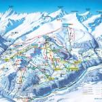 Obersaxen Piste Map